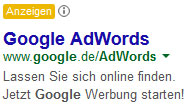 Google-AdWords-Text-Anzeigen