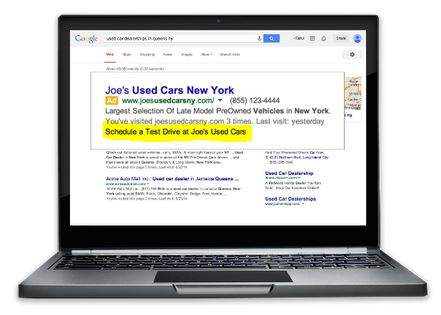 Dynamische AdWords Sitelinks