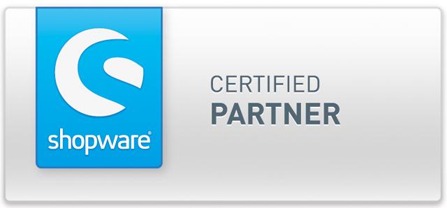 Zertifikat Shopware Partner