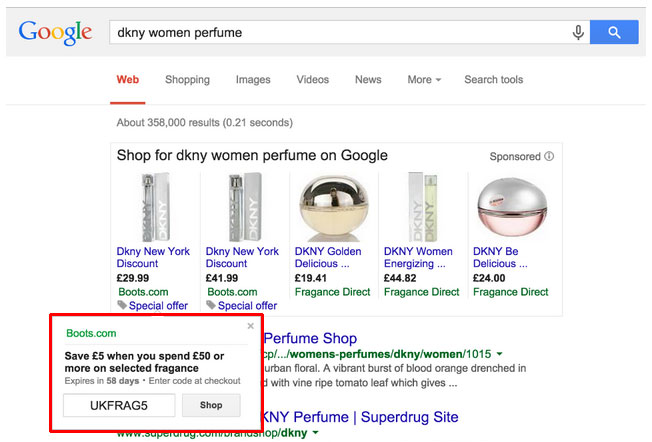 Merchant Promotionen für Google Shopping