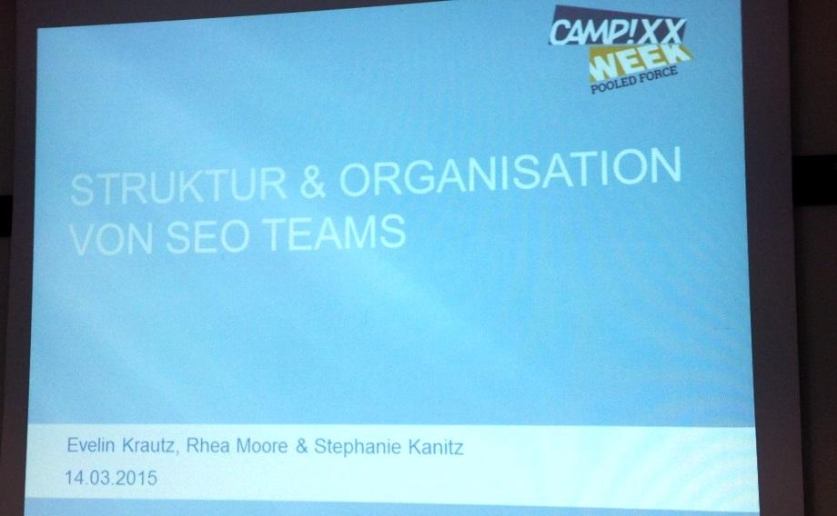 Struktur & Organisation von SEO Teams - Evelin Krautz, Rhea Moore & Stephanie Kanitz