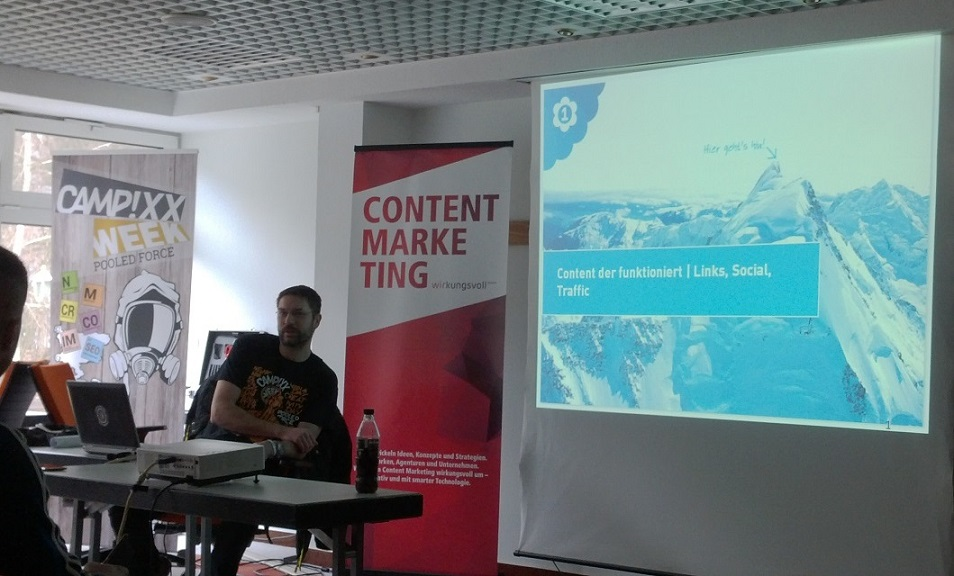 Content der funktioniert / Links, Social, Traffic – Tino Schade