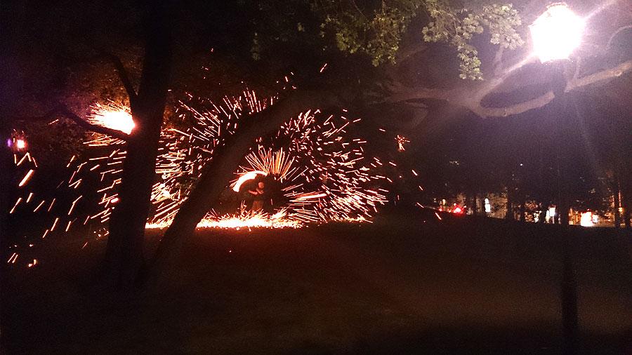 After Show Party #mm15de - Feuershow