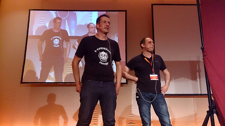 #mm15de - E-Commerce Kasperle-Theater - Eric und Dirk