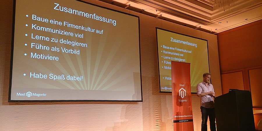 """#mm15de - Entwickler-Saal - Session """"Jetzt bist du Teamlead – und nun?"""" - Tobias Zander"""