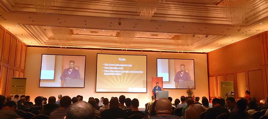 """#mm15de - Entwickler-Saal - Session """"Magento Optimization"""" - Andrey Korolyov"""