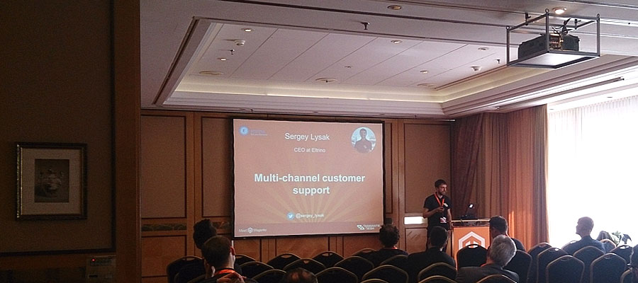"#mm15de - Business-Raum - Session ""How to make benefits with multi-channel customer support. Magic recipes for eCommerce."" - Sergey Lysak"