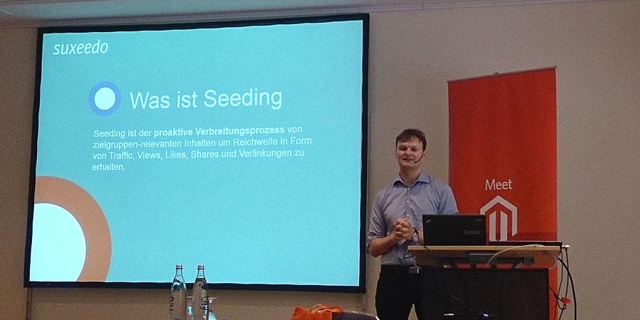 """#mm15de - Konferenz-Raum - Session """"Reichweite durch Seeding – Wie entwickeln Sie Inhalte, die von Multiplikatoren aufgegriffen werden"""" - Fionn Kientzler"""