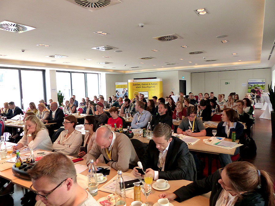 Teilnehmer der Hashtag Business SocialMedia Konferenz