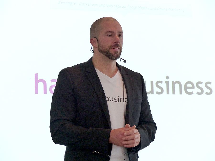 Ansprache Felix Beilharz - Hashtag Business SocialMedia Konferenz