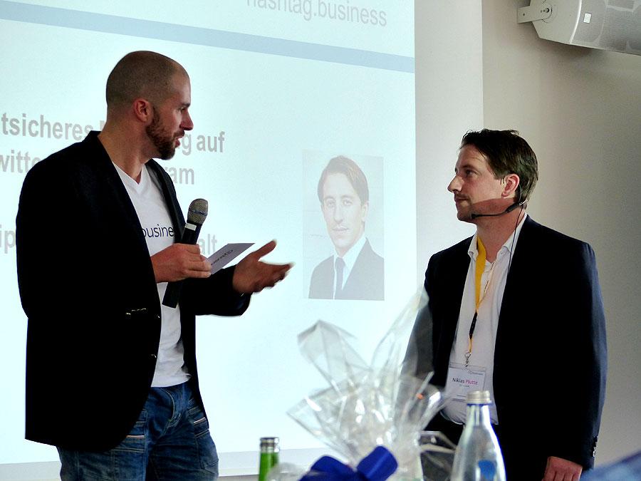 Hashtag Business SocialMedia Konferenz Felix Beilharz