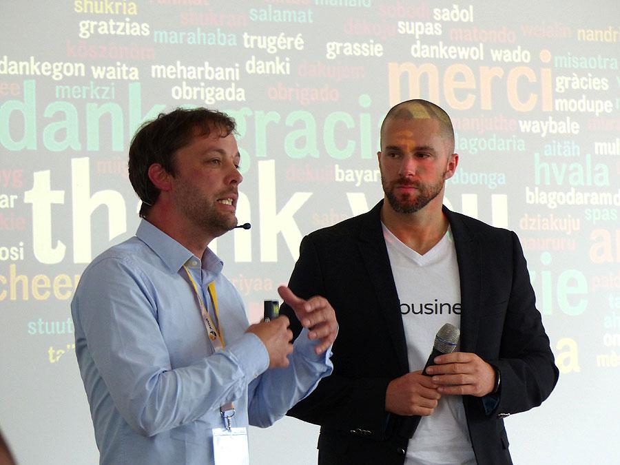 Hashtag Business SocialMedia Konferenz - Nico Lange