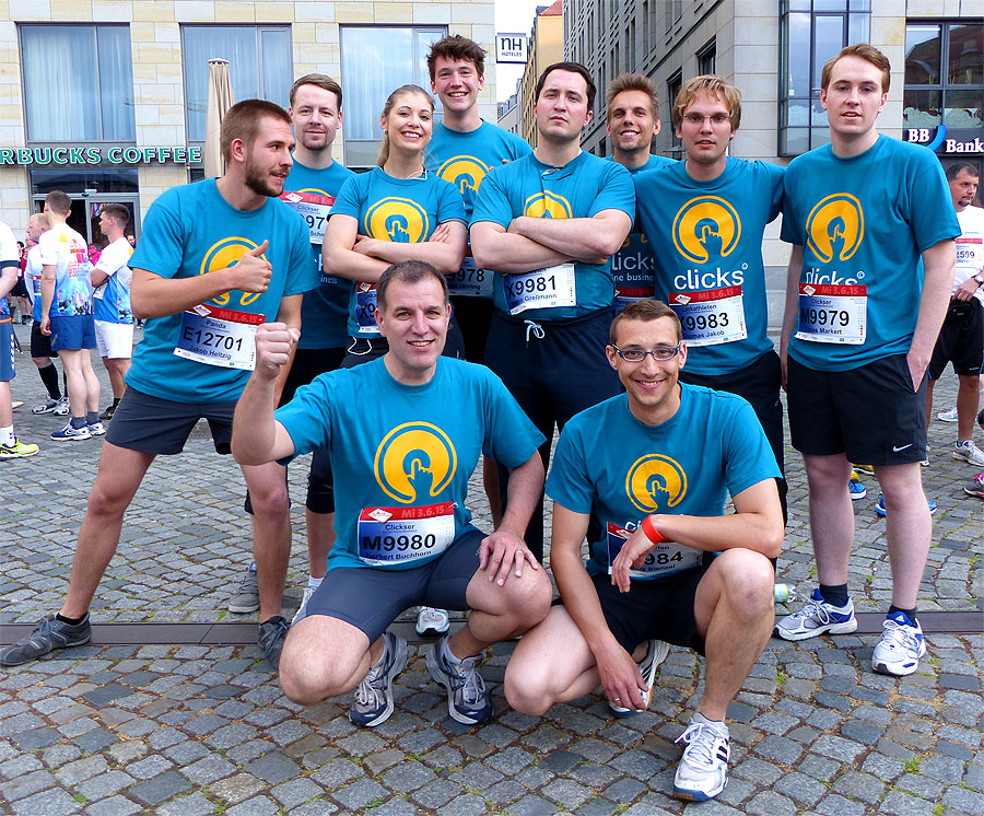 Clicks Online Business bei der REWE Teamchallenge 2015