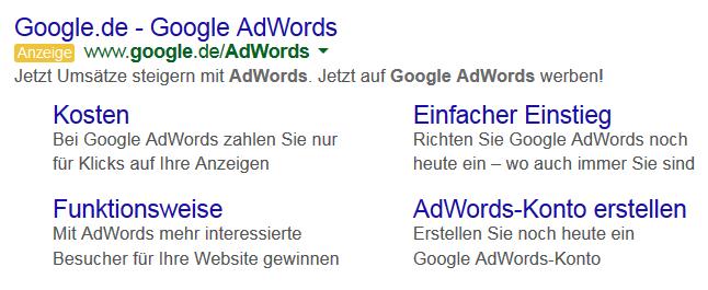 Sitelinks_Google