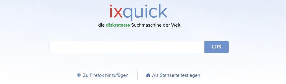 Suchmaschine Ixquick