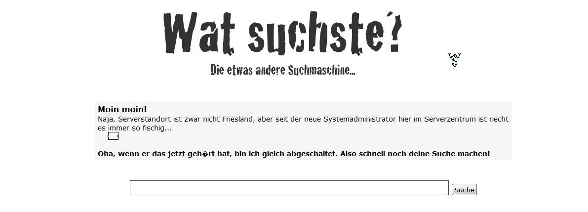 Suchmaschine Watscuhste