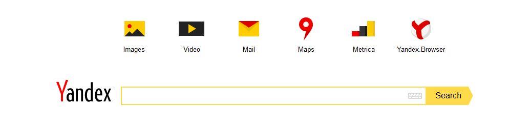 Suchmaschine Yandex