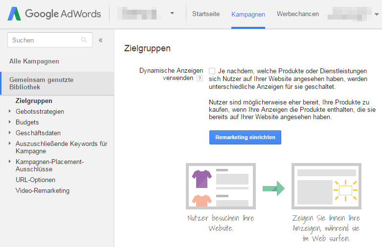 Google AdWords/Google Ads Remarketing