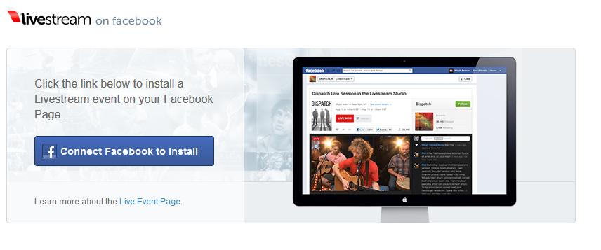 Facebook Livestream App