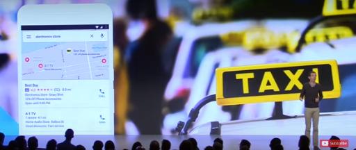 Screenshot Google Performance Summit Best Buy Anzeigen in Google Maps