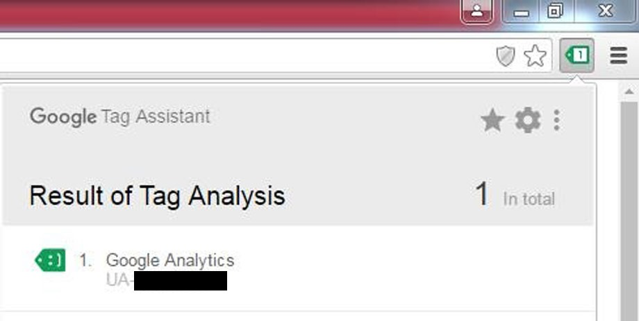 result tag assistant