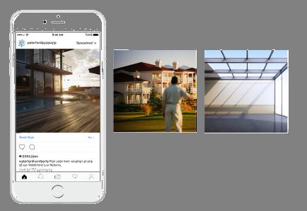 Screenshot Beispiel Instagram Produktanzeigen Hotels