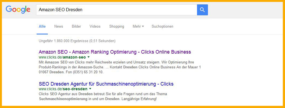 Website auf Keywords auslegen