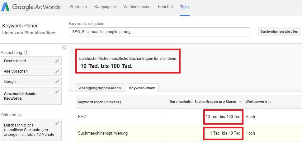 google-keyword-planer-monatliches-suchvolumen