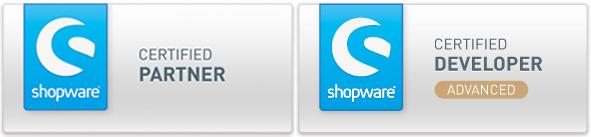 Clicks ist Shopware Certified Partner und Certified Advanced Developer