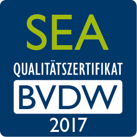 SEA-Qualitätszertifikat 2017 des BVDW