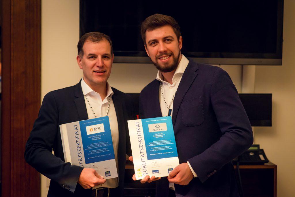 BVDW Neujahrsempfang 2017 mit Herbert Buchhorn von Clicks