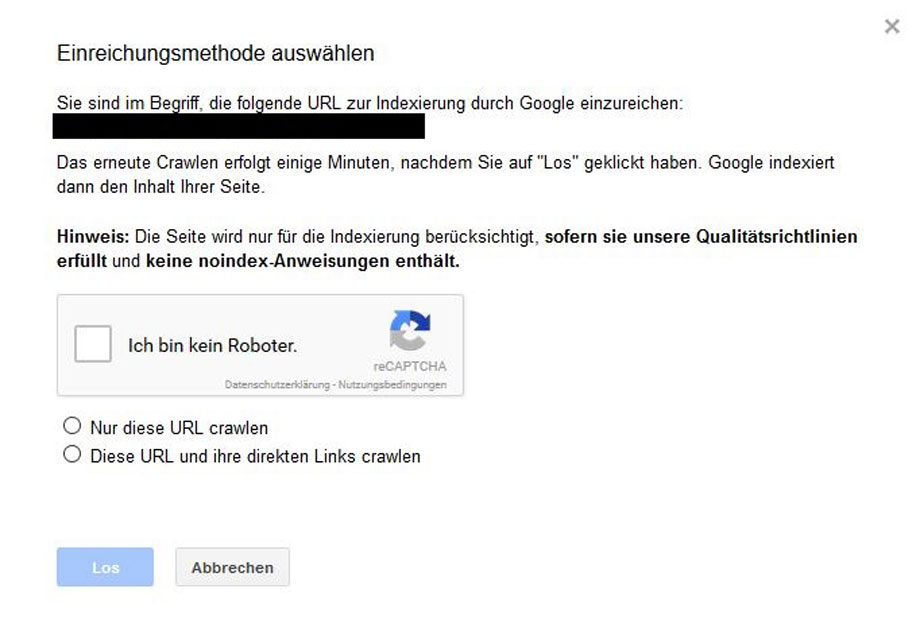 google-search-console-indexierung-beantragen
