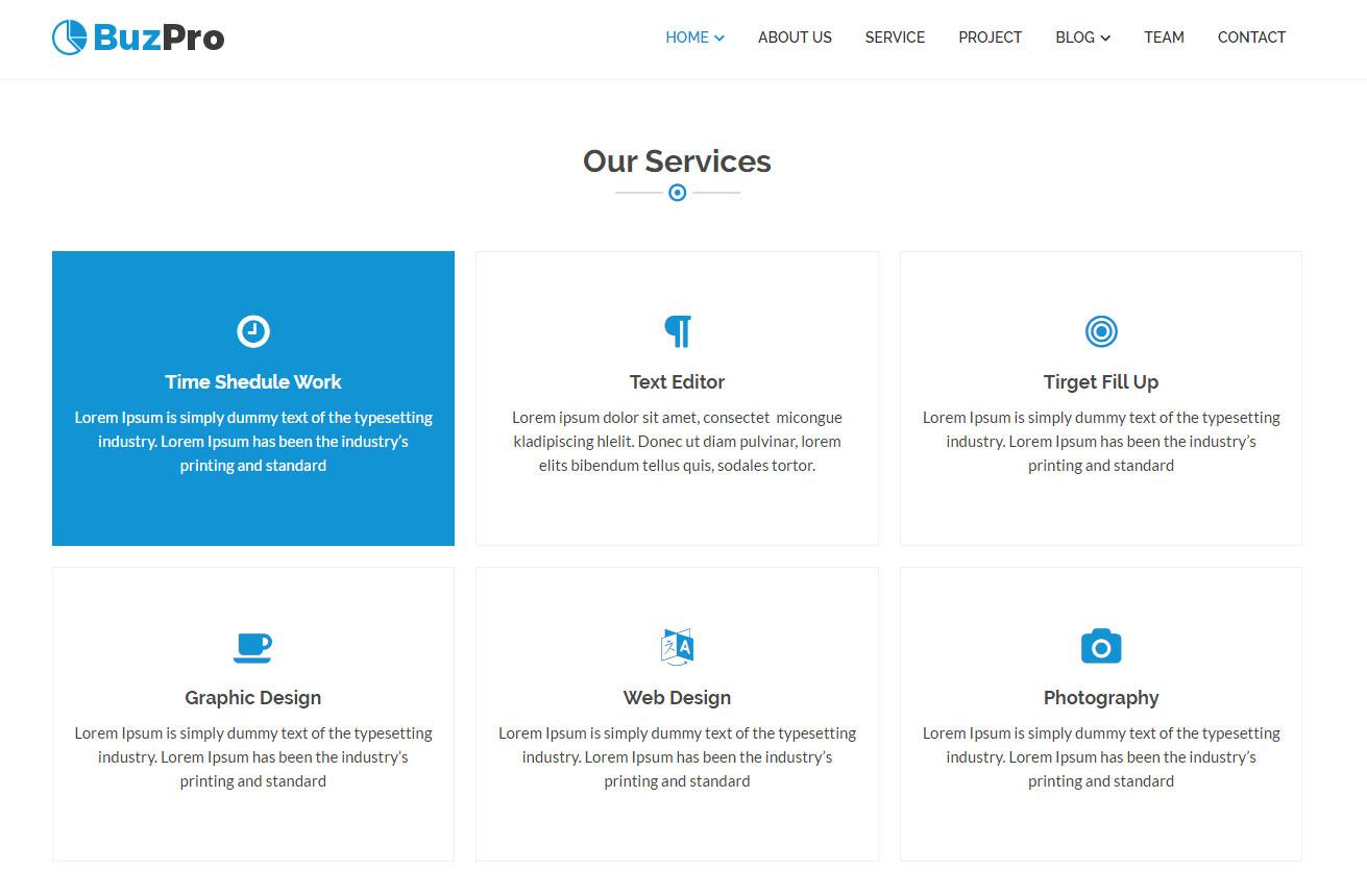 Schematische Darstellung einer ergänzenden Navigation einer B2B Webseite