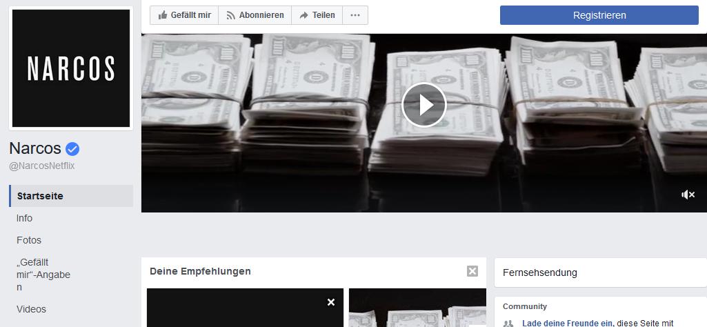 titelvideos für Facebookseiten