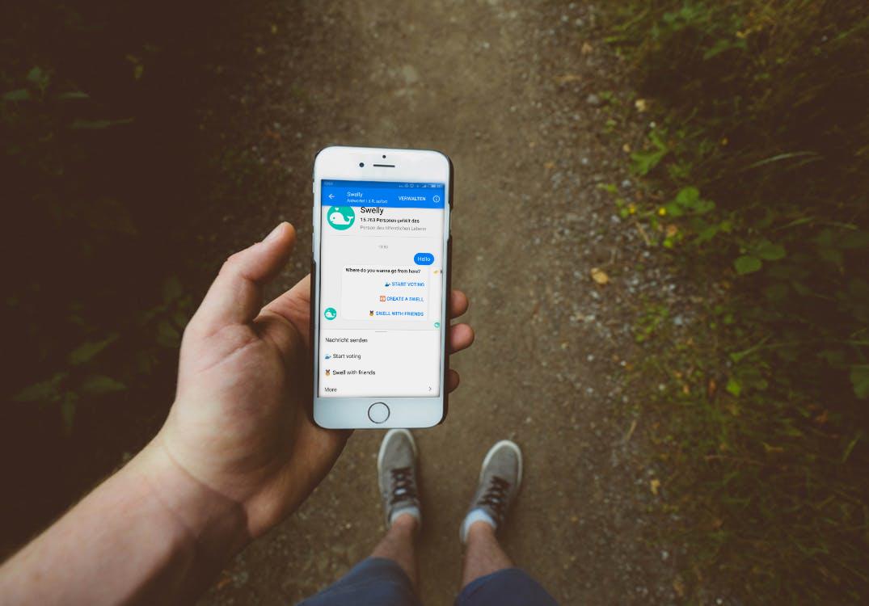 Chatbots wie Swelly sind bereits in Benutzung
