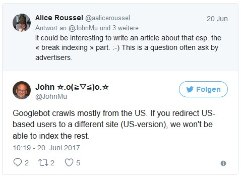 john-mueller-tweet-google-crawls-mostly-from-the-us