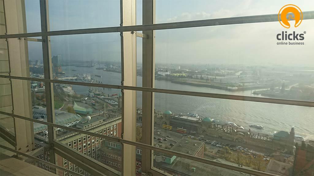 Aussicht Hamburger Atlantikhaus