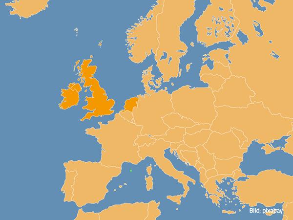Großbritannien, Niederlande