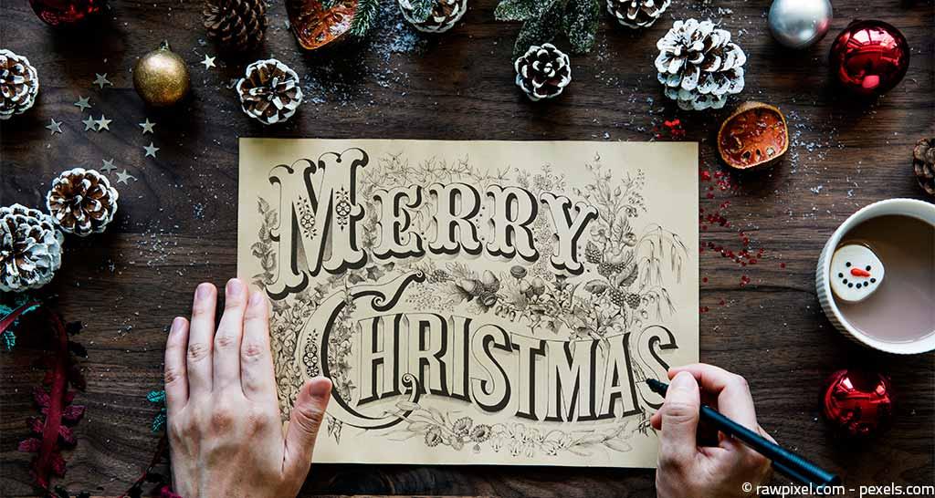 weihnachten-design-schriftzug