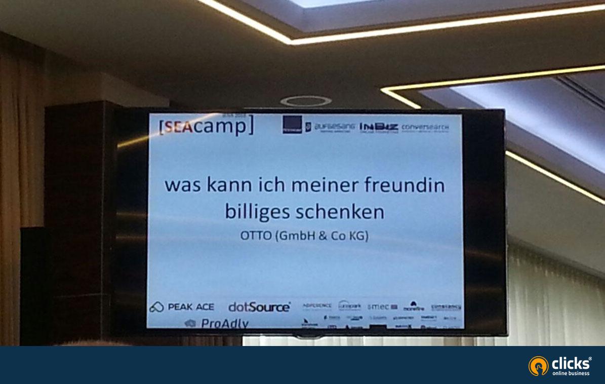 SEAcamp 2018 witzige Suchanfrage