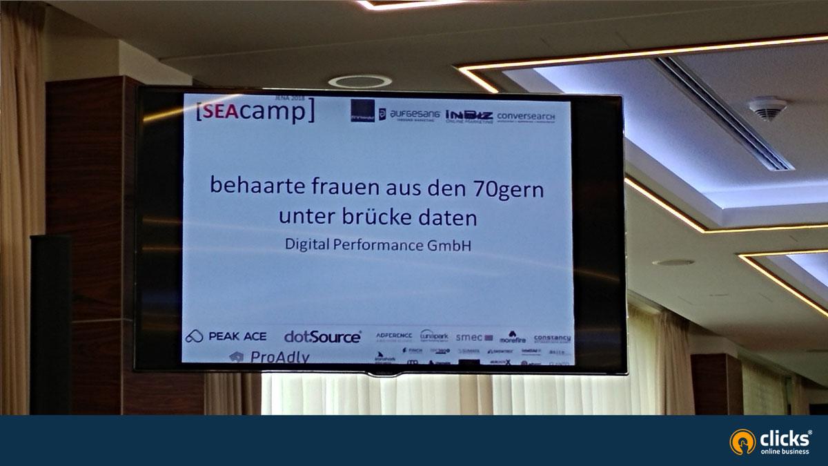 SEAcamp Beste Suchanfragen