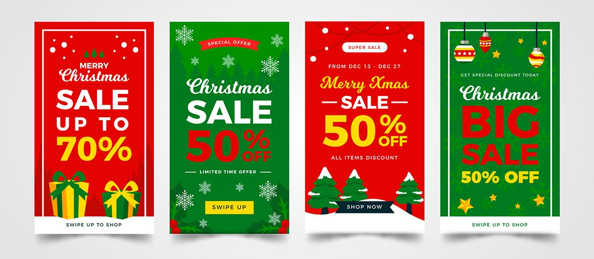 Werbung Weihnachten Anzeigen
