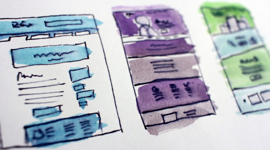 Landing Page Elemente