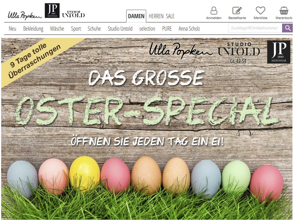 ullapopken Oster Special Onlineshop