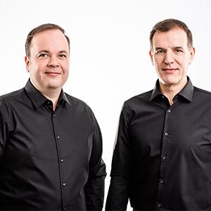 Geschäftsführer von Clicks Online Business: Christoph Schöne und Herbert Buchhorn
