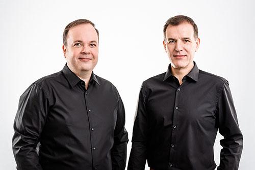 Geschäftsführer von Clicks: Christoph Schöne und Herbert Buchhorn