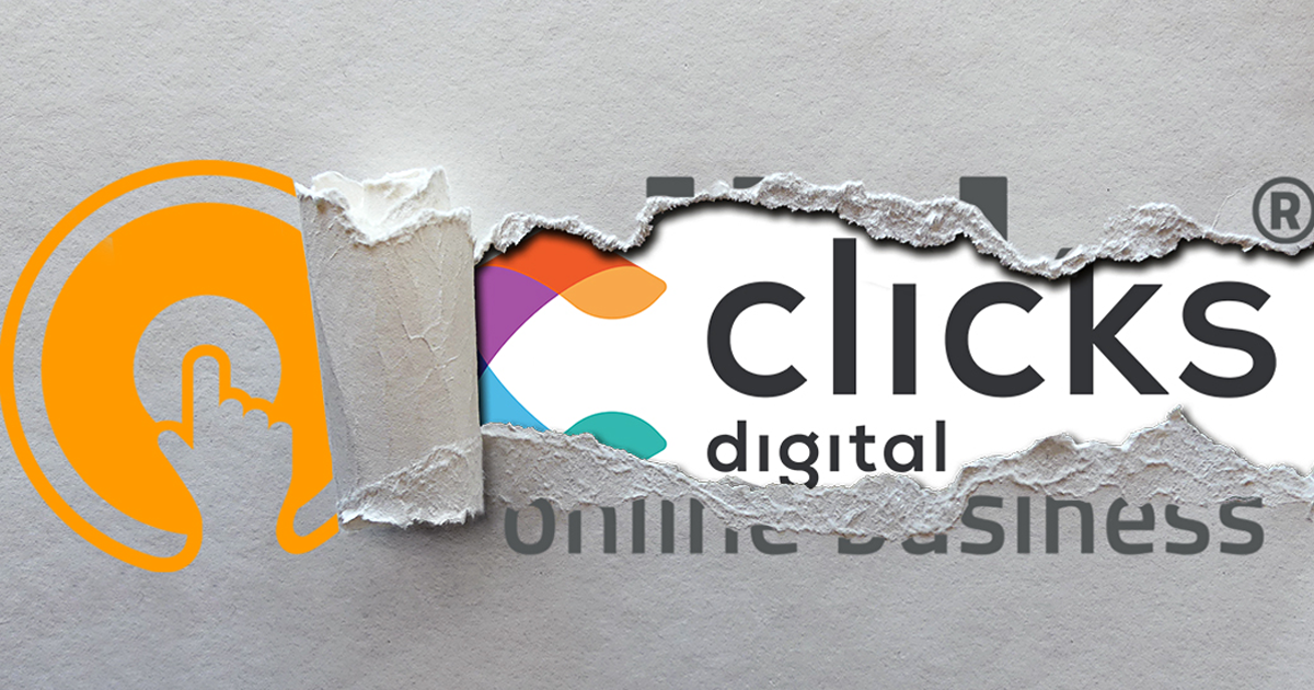 clicks digital Logo