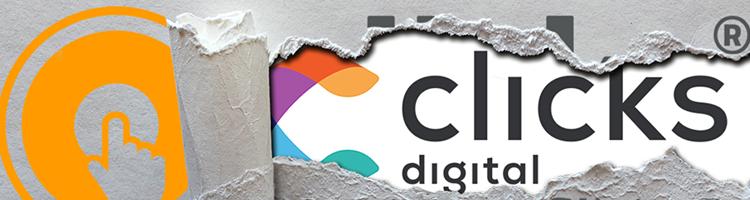 clicks digital Logo