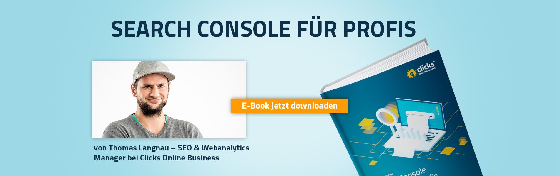 Search Console für Profis - eBook zum Downloaden