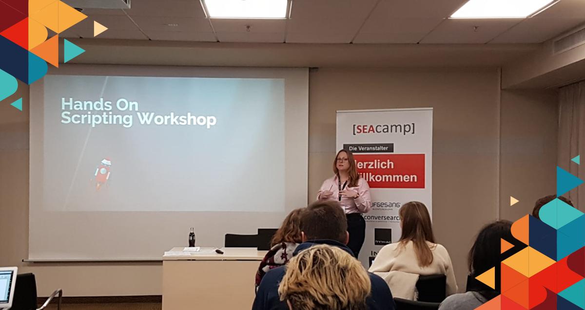 SEAcamp Scripting Workshop 2019 Hannover